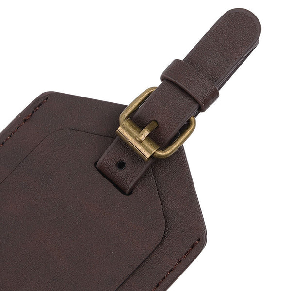 Leather Travel Bag Tag