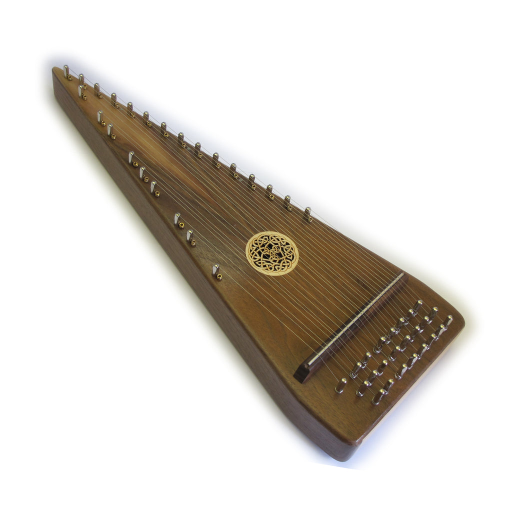 Soprano Bowed Psaltery 24 Note - Walnut