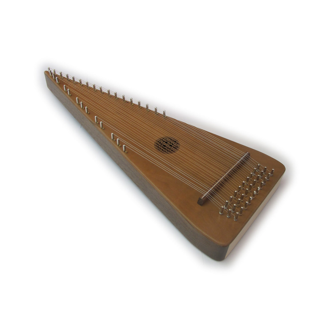 Bowed psaltery package contents include carrying case, bow, rosin, tuning wrench and more