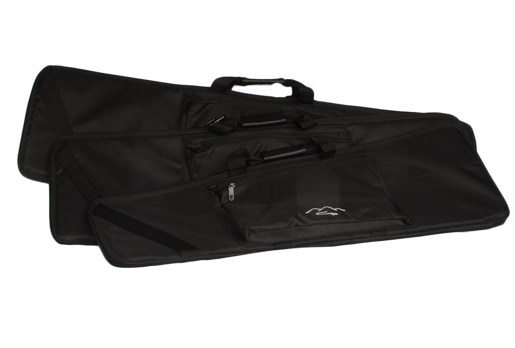 soft padded mountain dulcimer case in 3 sizes