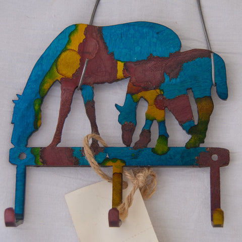 Mare & Foal small item/key hanger