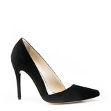 Pointy stiletto with plexi cut