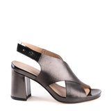 Open toe high heel sandal