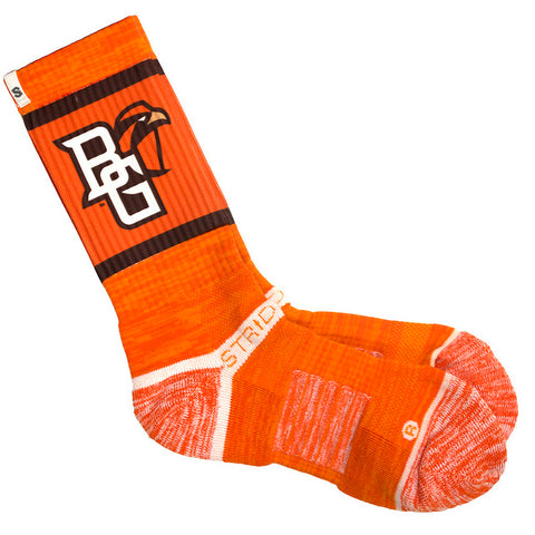 Athletic Peekaboo Crew Socks