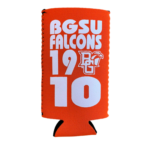 BGSU Falcons Slim Can Holder