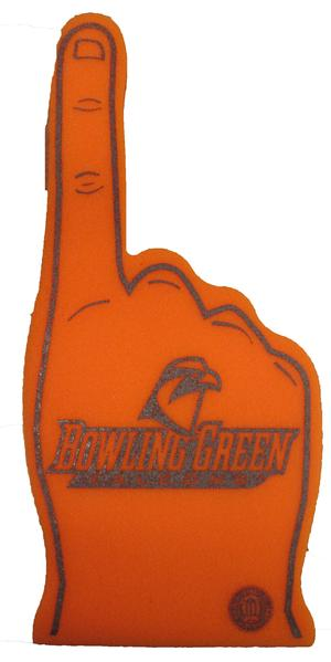 BGSU Foam Finger