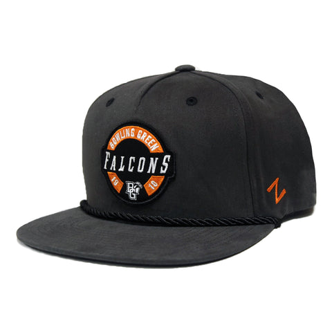 Grey Falcons Flat Bill Hat w/Cord