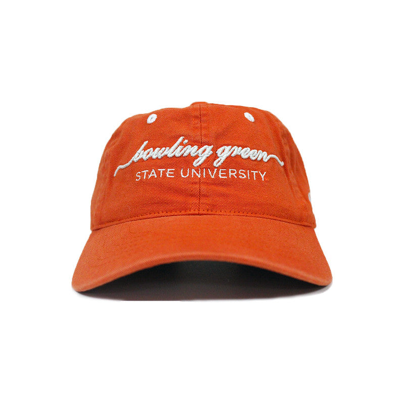 Orange Script Bowling Green Hat