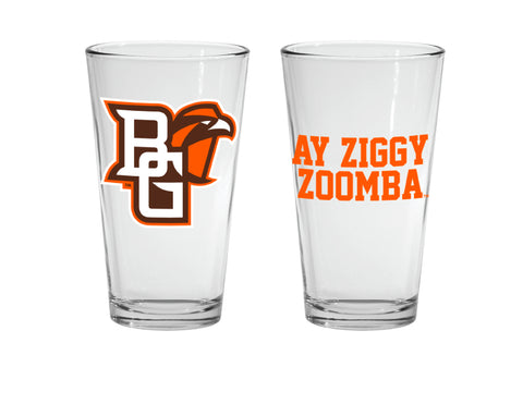 Ay Ziggy Zoomba Pint Glass