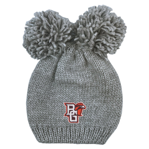 Youth Double Pom Knit Hat