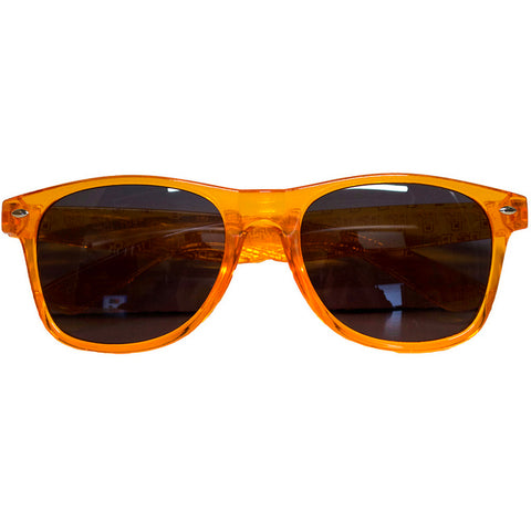 BG Translucent Orange Sunglasses