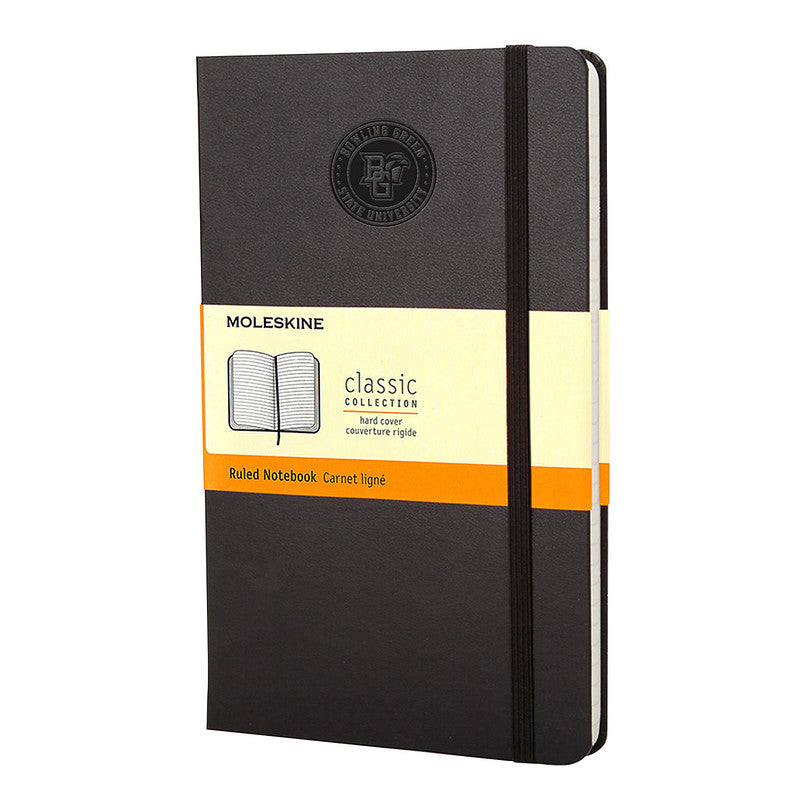 Moleskine Notebook with Faux BGSU Seal