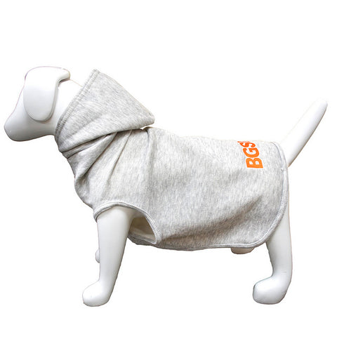 Fleece Dog Hood- Grey