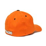 Fitted Orange Peekaboo Hat
