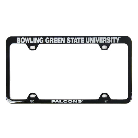 Black Metal Bowling Green State University License Plate Frame