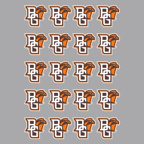 BGSU Mascot Logo Sticker Sheet