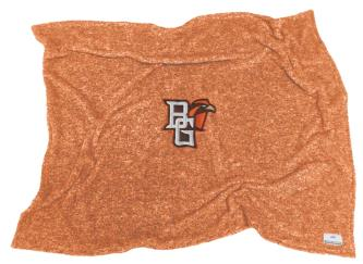 BGSU Orange Sherpa Blanket