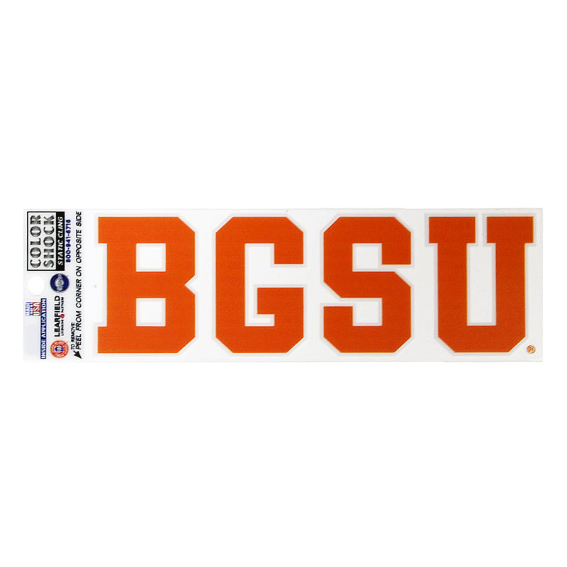 Block BGSU Static Decal