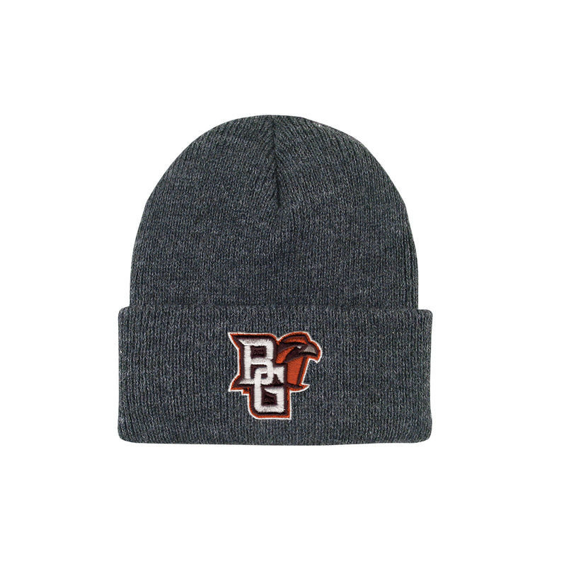 BGSU Toddler North Pole Cuff Beanie with Mascot Logo