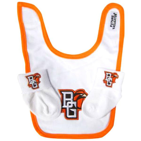 Baby Bib And Socks Gift Set