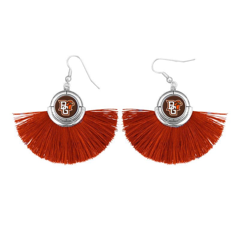 BGSU Fringe Earrings