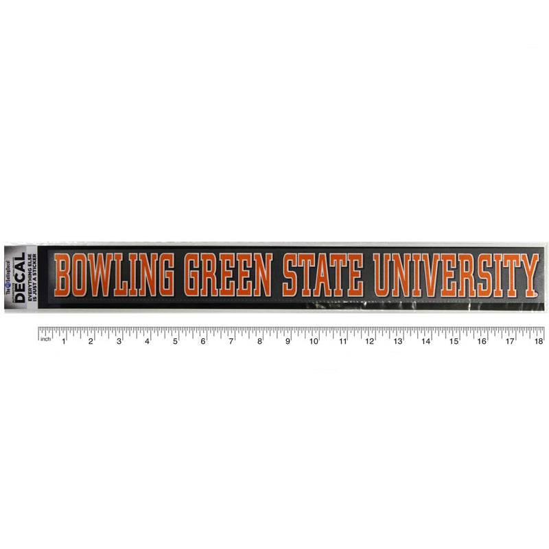 Bowling Green State University Static Decal