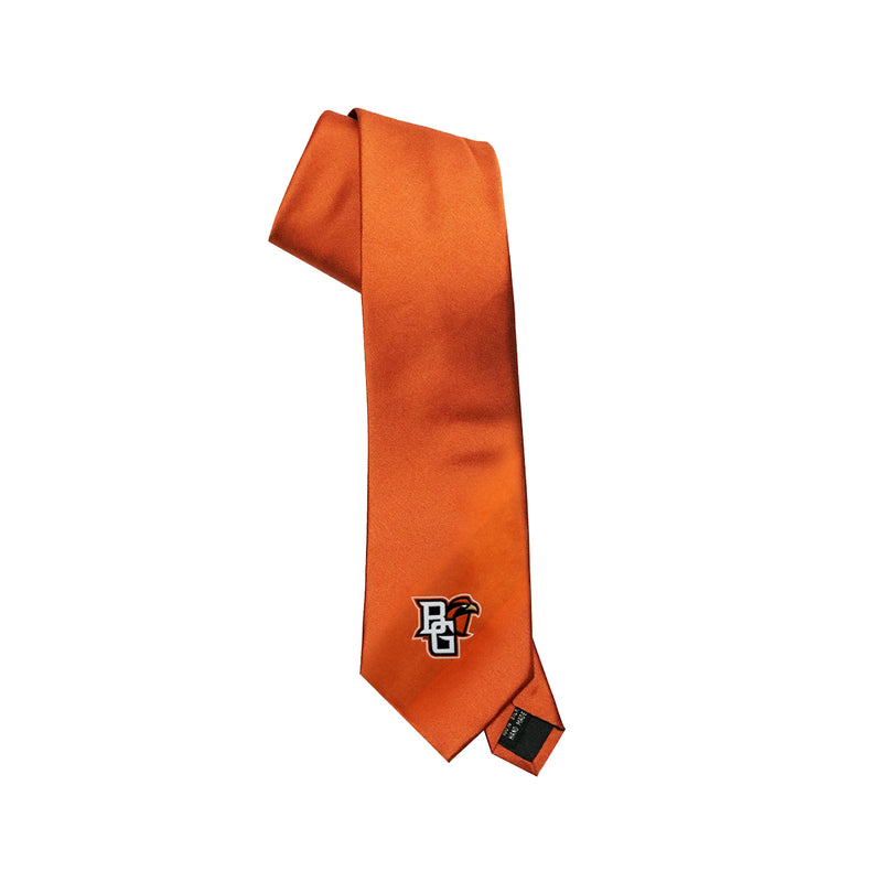 Orange BGSU Tie w/Peekaboo