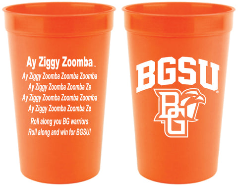 BGSU Stadium Cup with Fight Song
