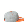 Orange/Grey Flat Bill Hat w/Bowling Green Patch