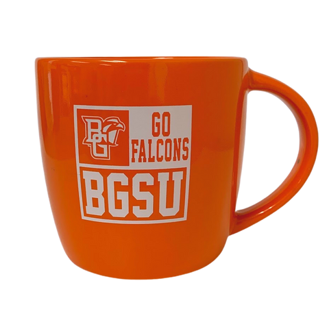 Orange Go Falcons BGSU Mug