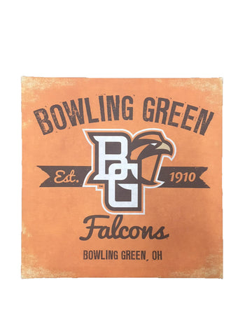 Canvas BGSU Wall Art - 14x14""