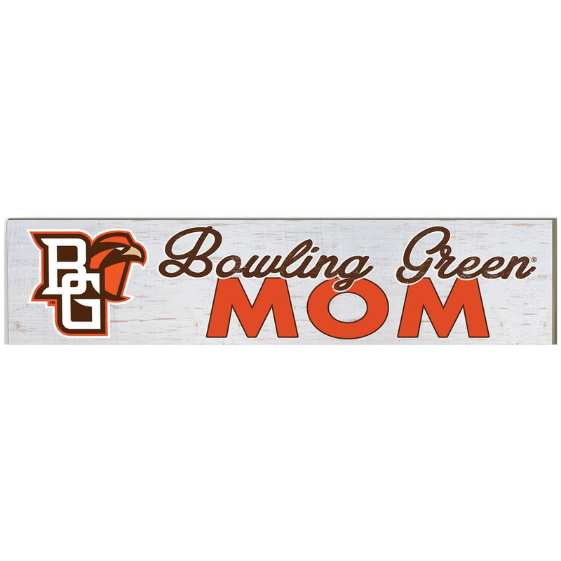 Wooden Bowling Green Sign w/ Mascot Logo