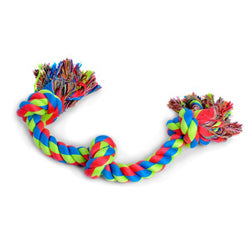 Triple knot rope for dogs to play with