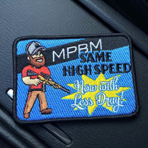 "MPBM Members Only Exclusive: ""Less Drag"" Patch"