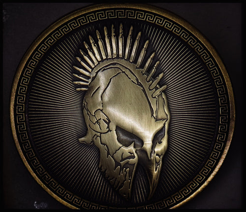 Bronze Spartan Pin