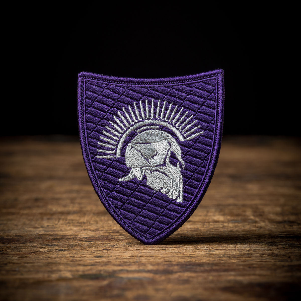Purple Quilted Spartan