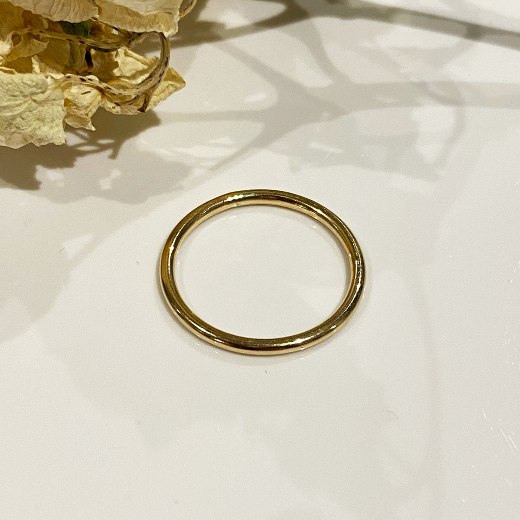 14ct Gold Filled Round Wire Stacking Ring