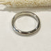 Sophie Thomas Jewellery - Sterling Silver D Shaped Wedding Ring - Nosek's Just Gems
