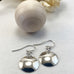 Sophie Thomas Jewellery - Sterling Silver Domed Disc Earrings - Smooth - Nosek's Just Gems