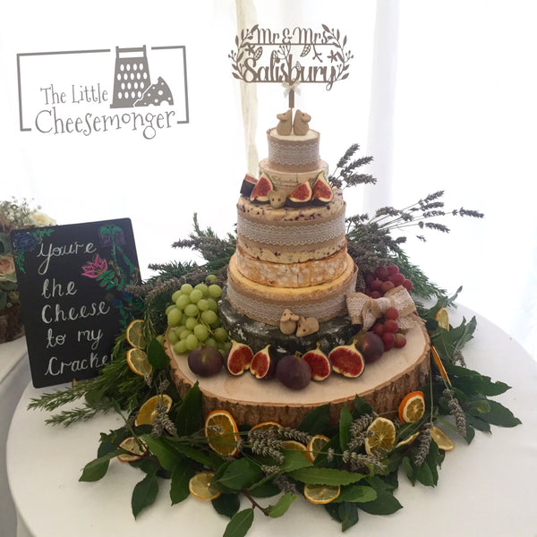 Cheese wedding cakes are becoming the norm, but how do you go about choosing one?