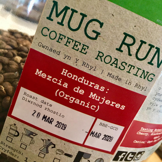 Locally Roasted Coffee | Honduras: Mezcla De Mujeres | Mug Run