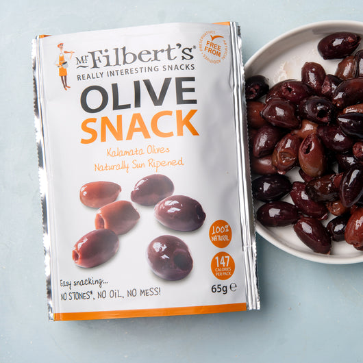 Pitted Kalamata Olives 65g | Mr Filbert's