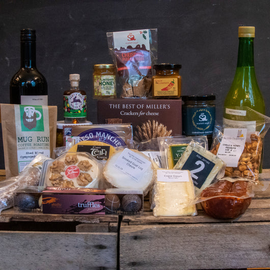 Cheese Lover's Christmas Gift Hamper | Selection of Artisan Cheeses, Chutneys and More