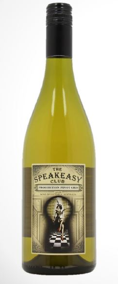 The Speakeasy Club | Prohibition Pinot Gris | Australia