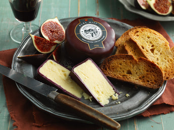 Ruby Mist Cheese | Snowdonia Cheese Company | Truckle 200g