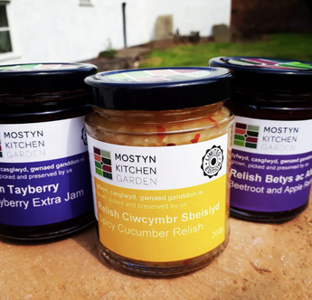beetroot & Apple Relish | Mostyn Kitchen Garden