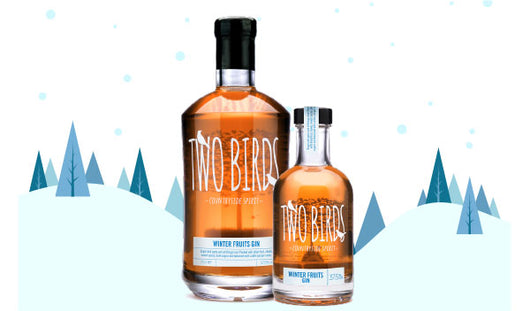 Two Birds WINTER FRUITS GIN 70cl 37.5% | Festive Gin | Christmas Gin
