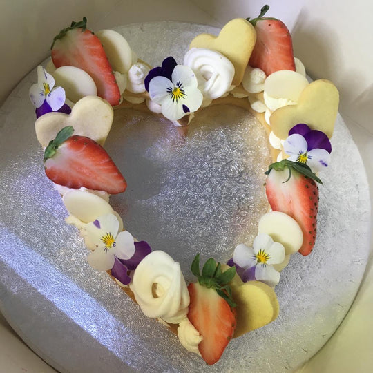 Marina's Italian Cheese Cake Heart | Mother's Day | Pre-Order