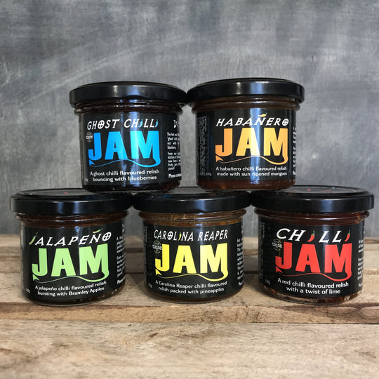 Chilli Jams | Dangerous Food Co North Wales | 110g - Jams
