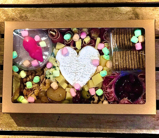 Valentine's Day Sharing Platter Box | Romantic Gift Platter